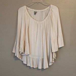 On or Off the Shoulder Ivory Top